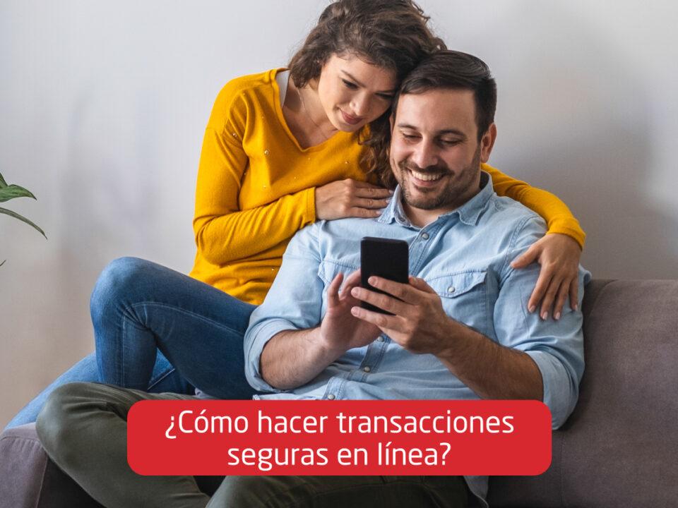 Transacciones seguras en línea